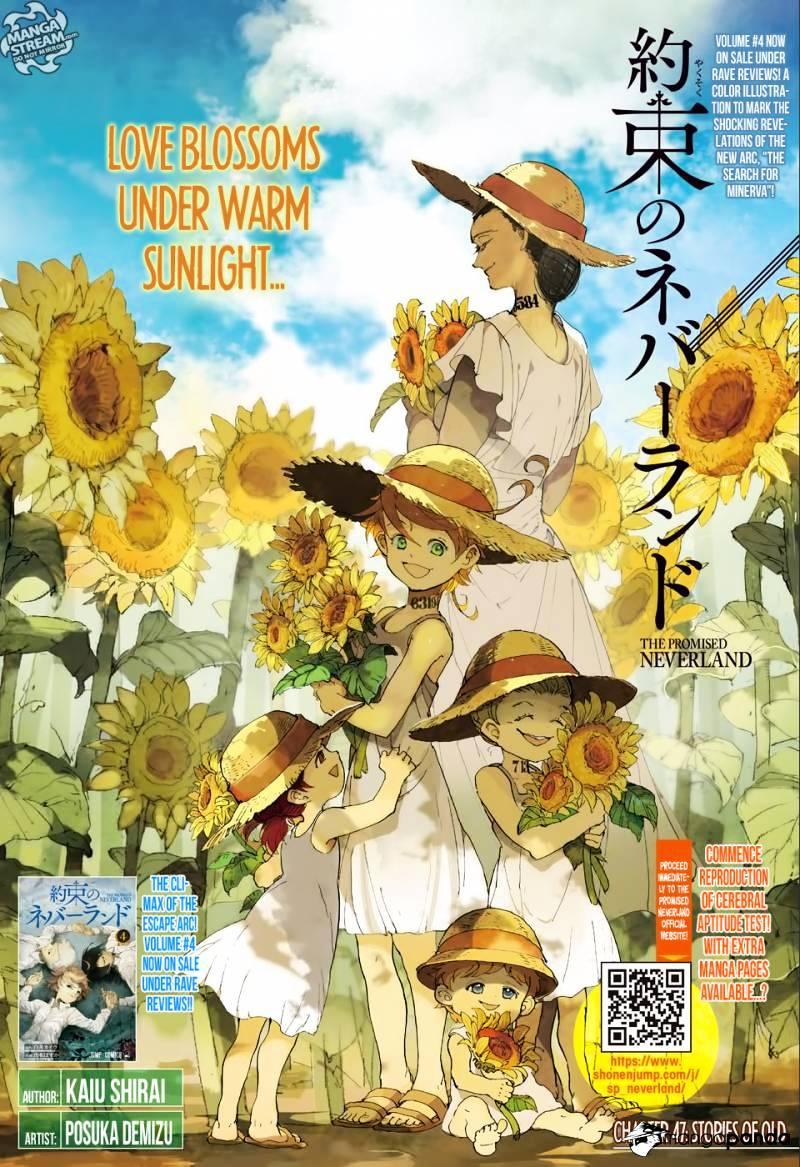 Yakusoku No Neverland Chapter 47  Online Free Manga Read Image 1