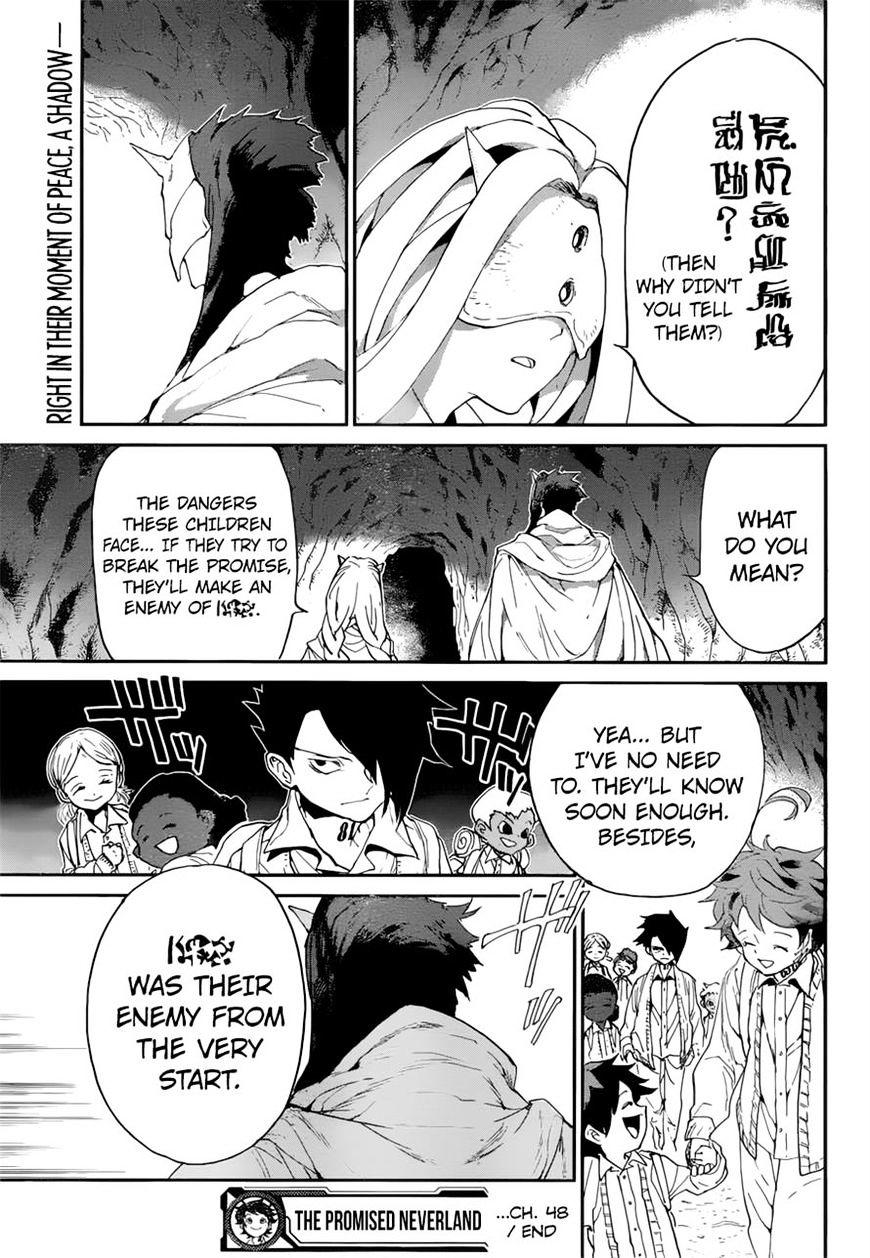 Yakusoku No Neverland Chapter 48  Online Free Manga Read Image 19