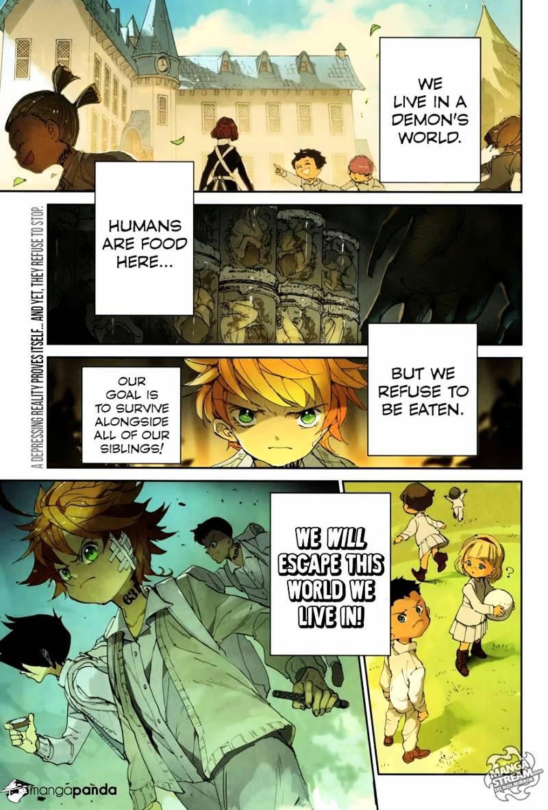 Yakusoku No Neverland Chapter 51  Online Free Manga Read Image 1
