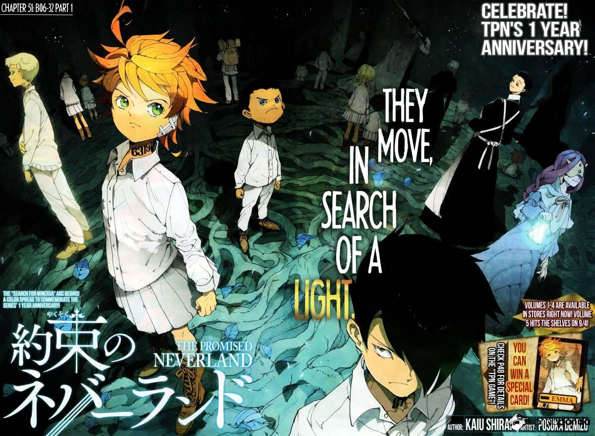 Yakusoku No Neverland Chapter 51  Online Free Manga Read Image 2