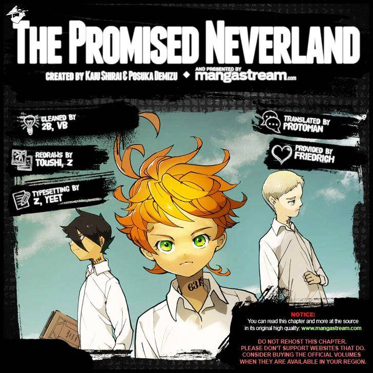 Yakusoku No Neverland Chapter 52  Online Free Manga Read Image 2