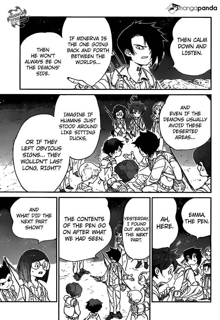 Yakusoku No Neverland Chapter 52  Online Free Manga Read Image 8