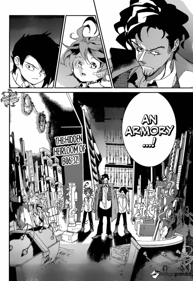 Yakusoku No Neverland Chapter 59  Online Free Manga Read Image 3