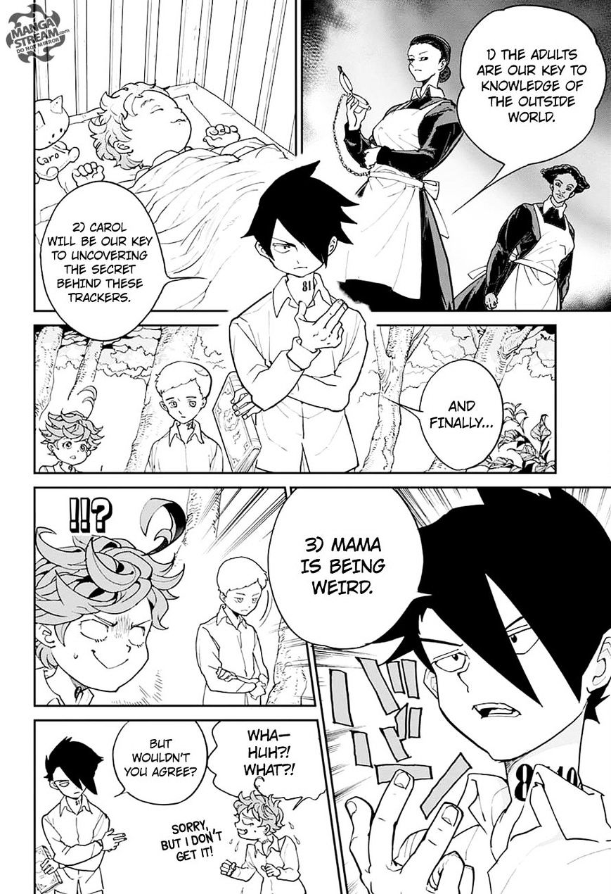 Yakusoku No Neverland Chapter 6  Online Free Manga Read Image 12