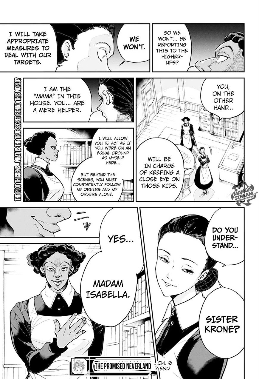 Yakusoku No Neverland Chapter 6  Online Free Manga Read Image 19