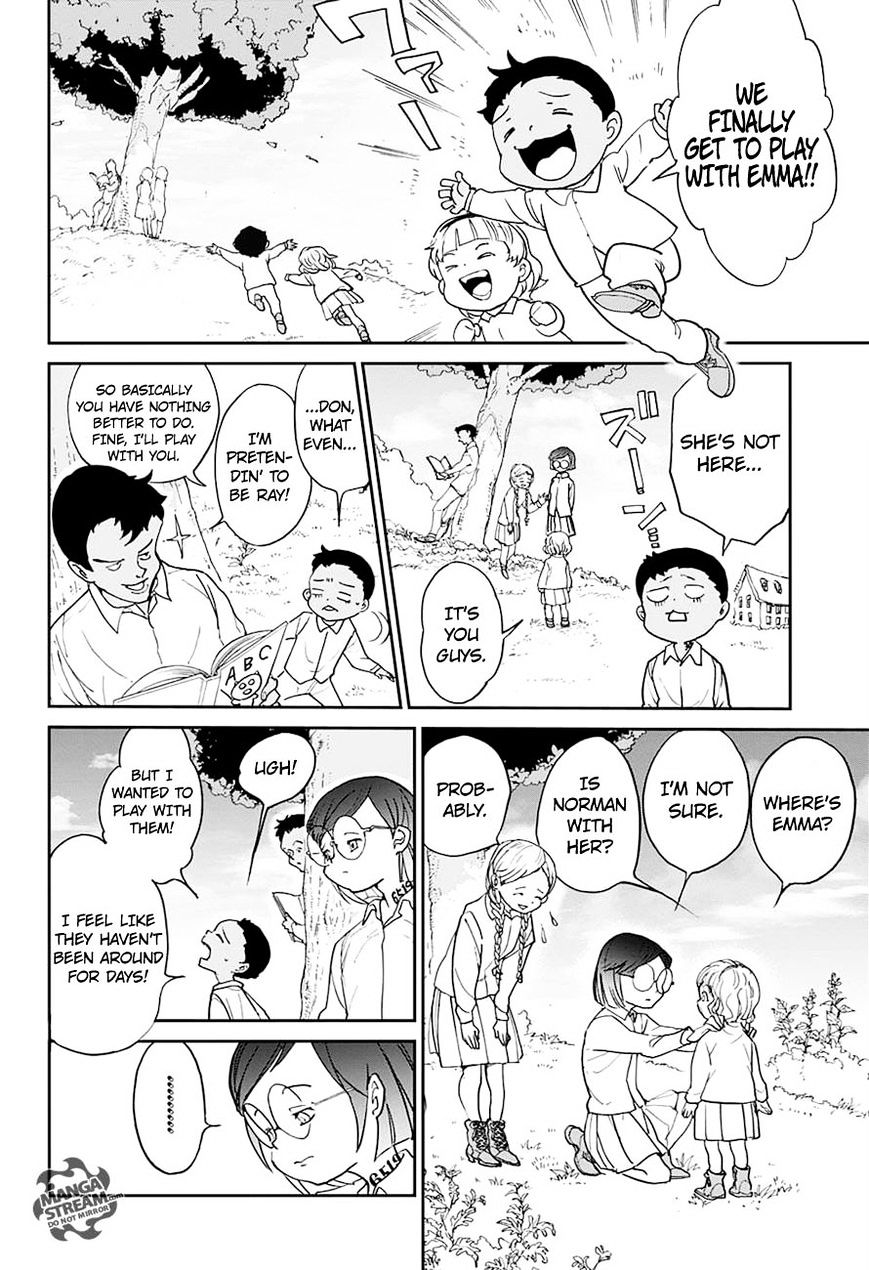 Yakusoku No Neverland Chapter 6  Online Free Manga Read Image 8