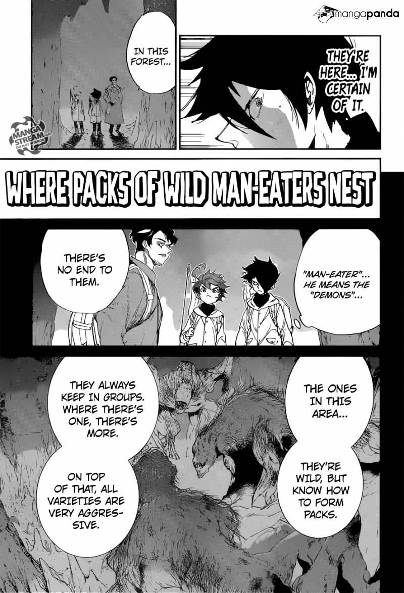 Yakusoku No Neverland Chapter 61  Online Free Manga Read Image 3