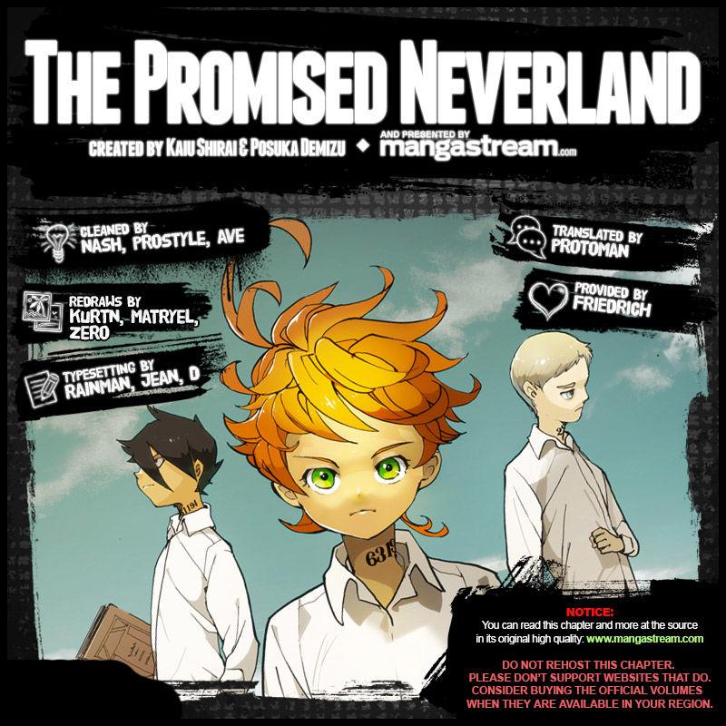Yakusoku No Neverland Chapter 62  Online Free Manga Read Image 2