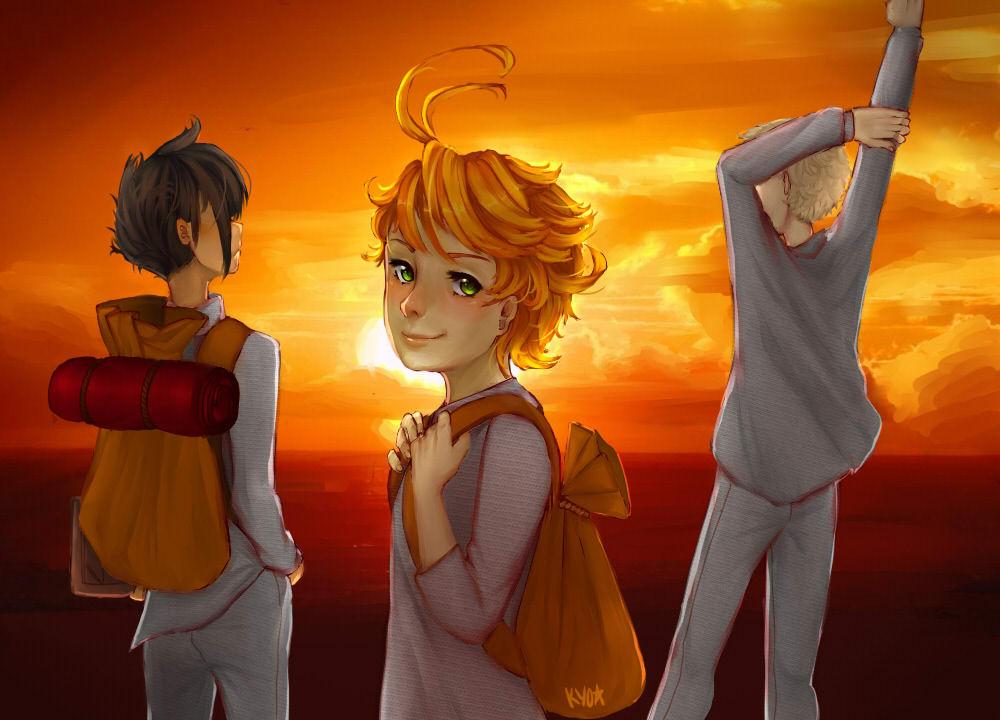 Yakusoku No Neverland Chapter 62  Online Free Manga Read Image 3