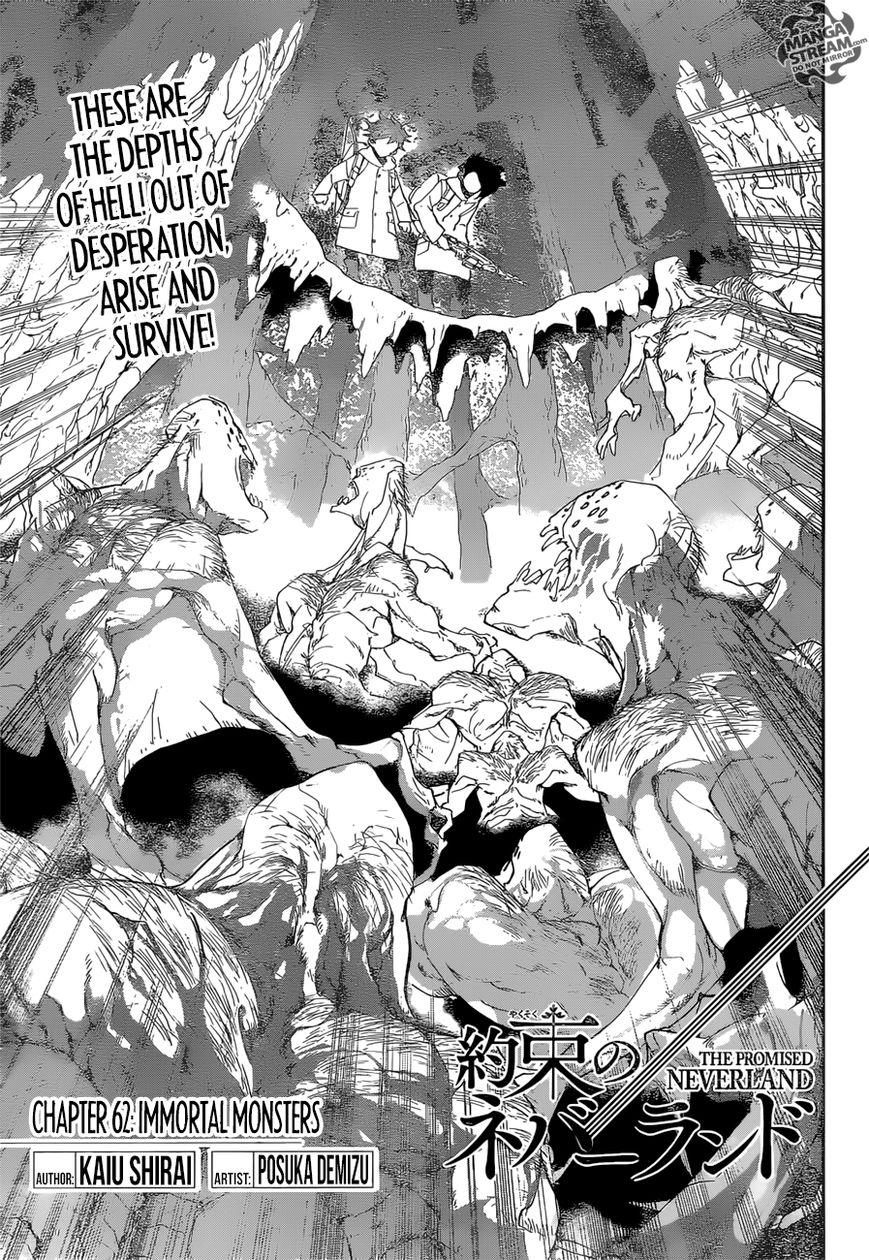 Yakusoku No Neverland Chapter 62  Online Free Manga Read Image 5
