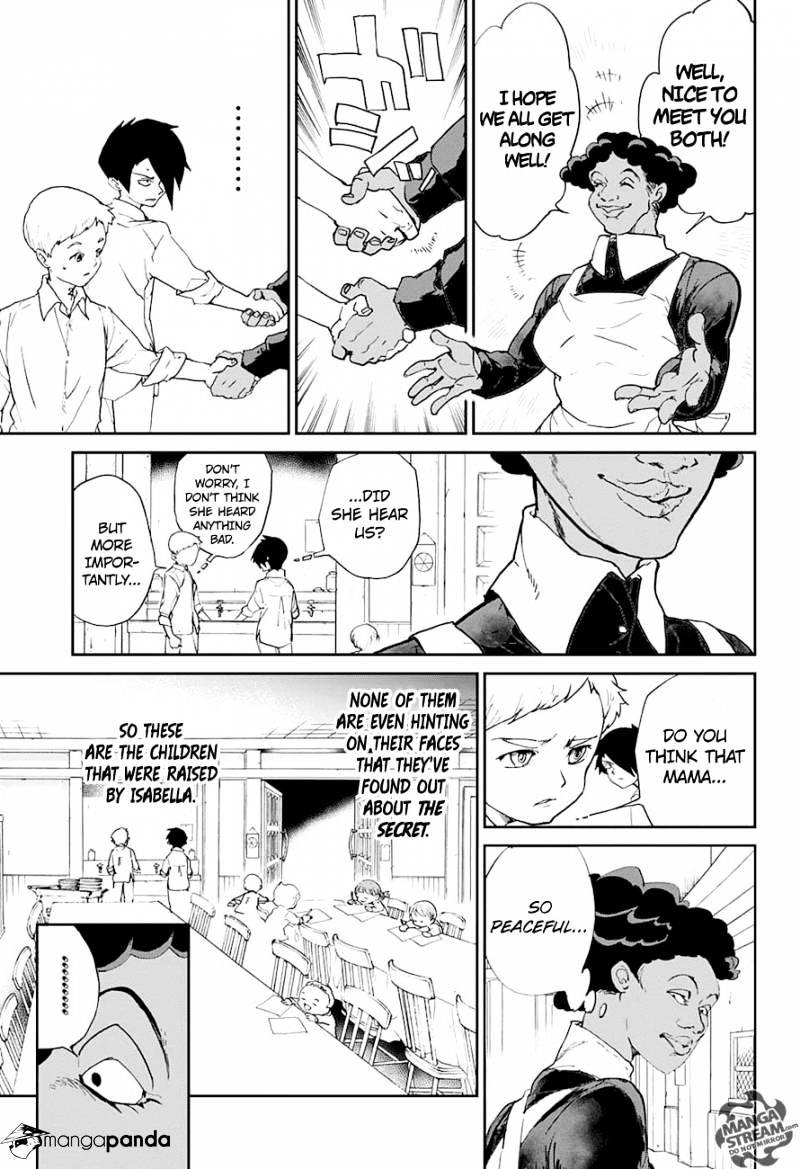 Yakusoku No Neverland Chapter 7  Online Free Manga Read Image 8
