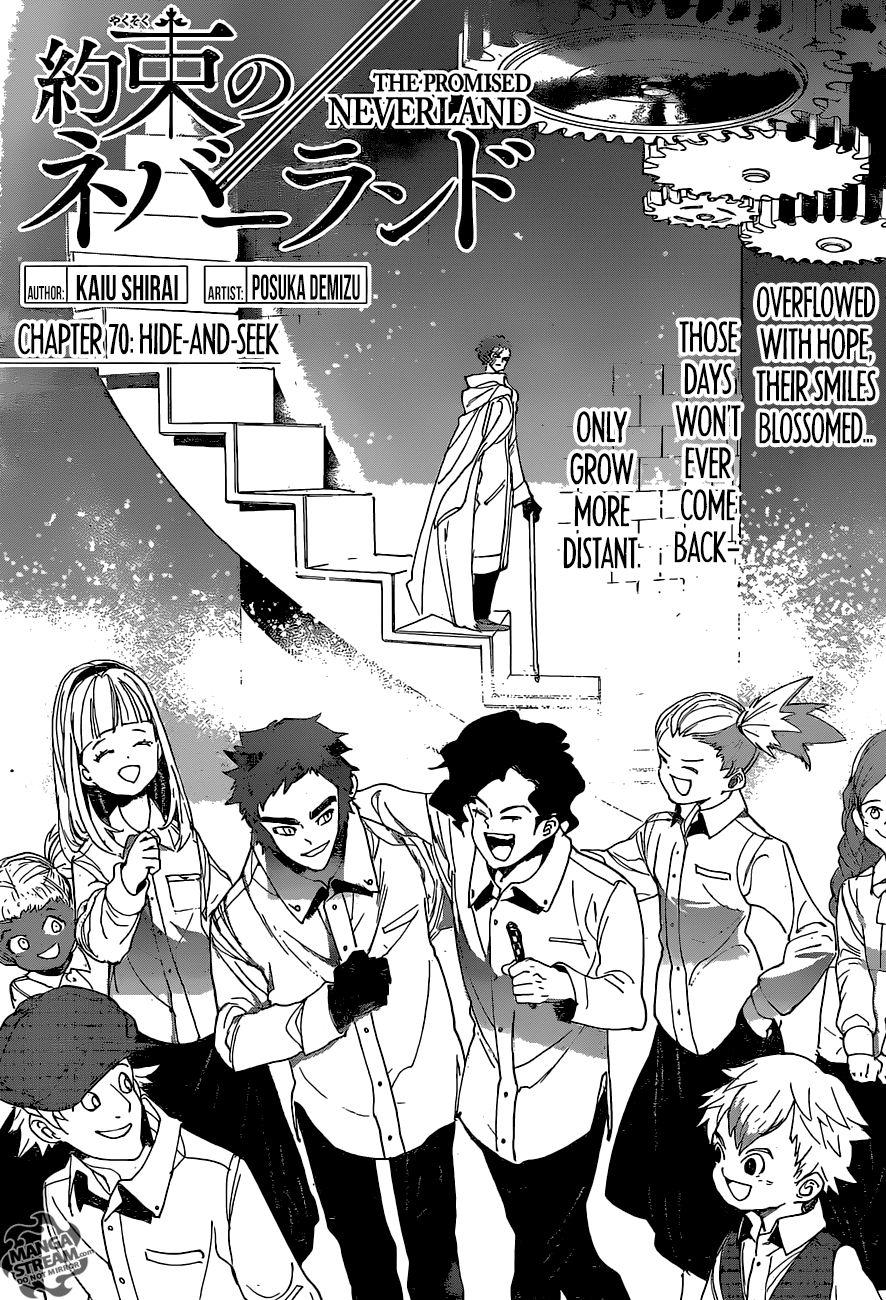 Yakusoku No Neverland Chapter 70  Online Free Manga Read Image 6