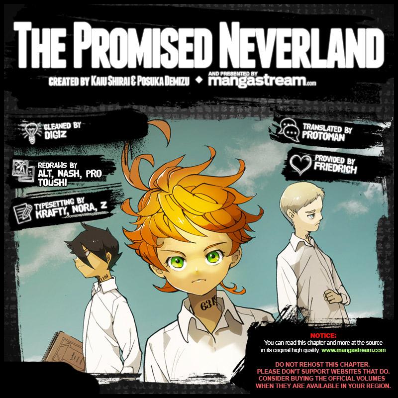 Yakusoku No Neverland Chapter 71  Online Free Manga Read Image 2