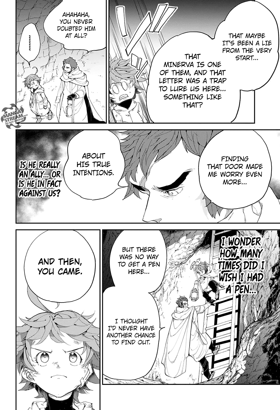 Yakusoku No Neverland Chapter 71  Online Free Manga Read Image 3