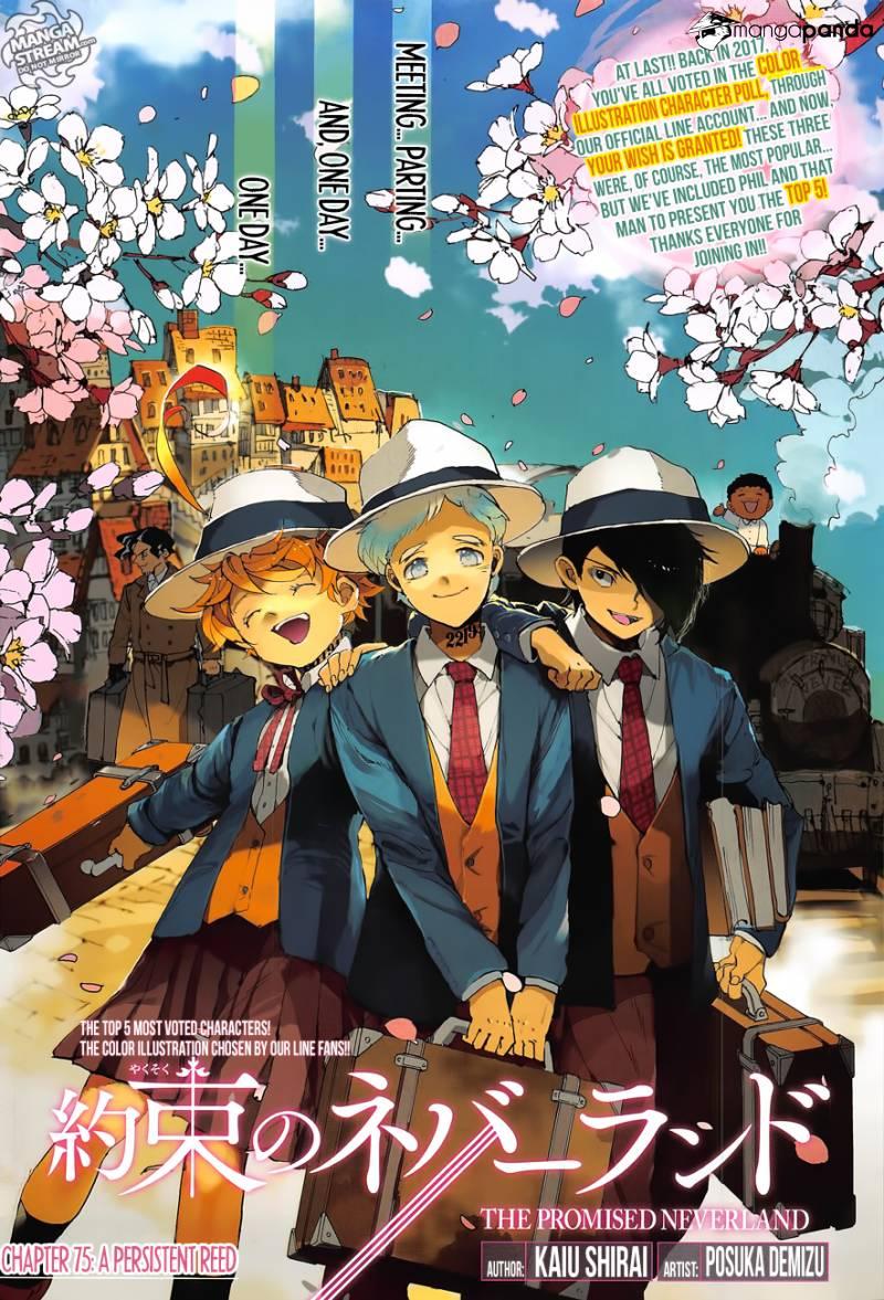 Yakusoku No Neverland Chapter 75  Online Free Manga Read Image 1