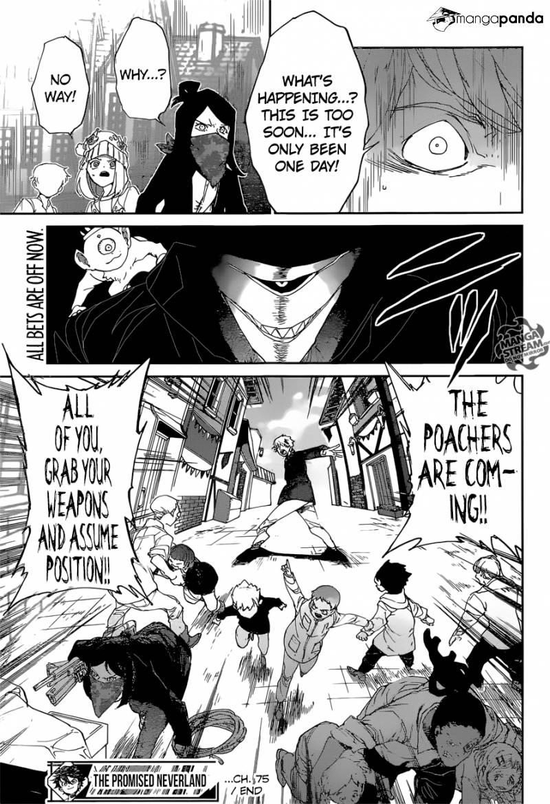 Yakusoku No Neverland Chapter 75  Online Free Manga Read Image 20