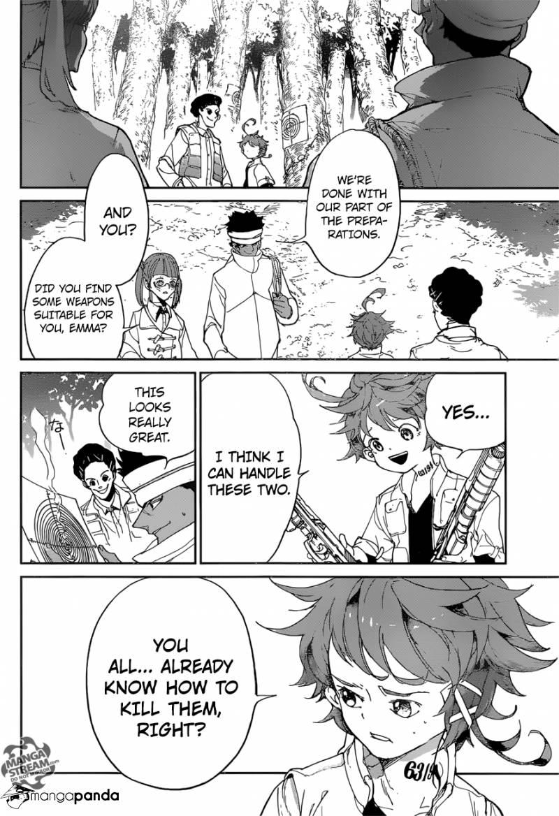 Yakusoku No Neverland Chapter 75  Online Free Manga Read Image 4