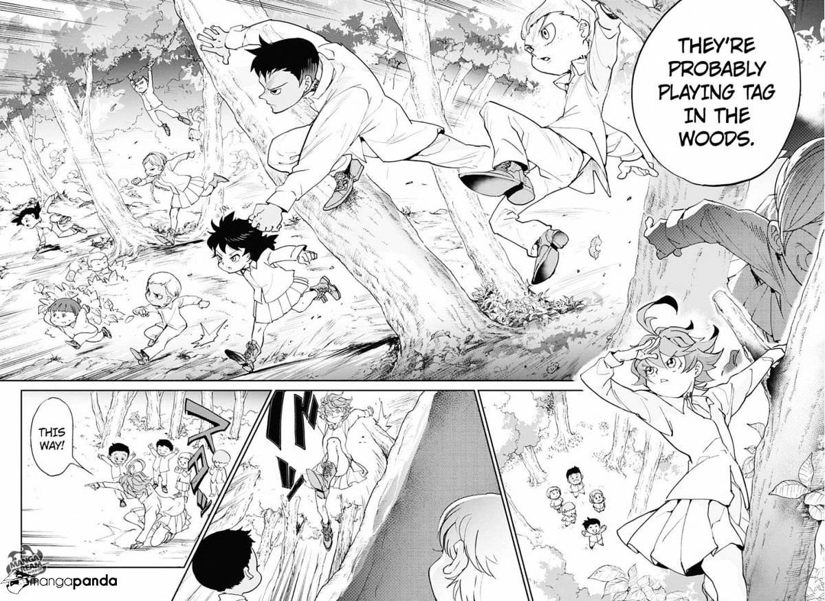Yakusoku No Neverland Chapter 8  Online Free Manga Read Image 12