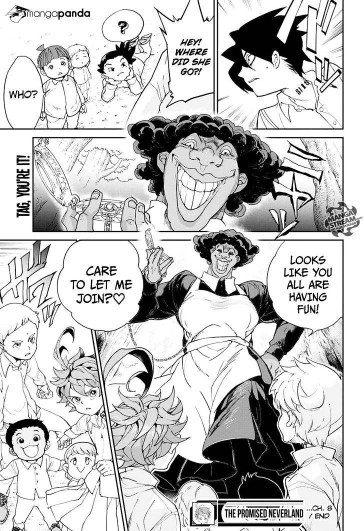 Yakusoku No Neverland Chapter 8  Online Free Manga Read Image 18