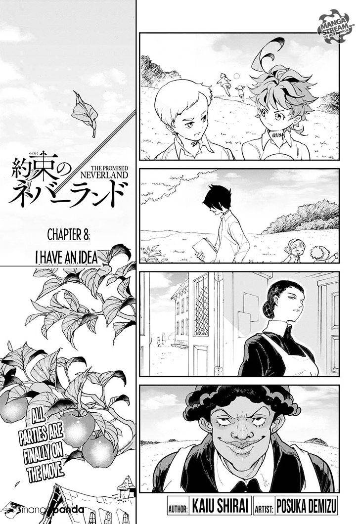 Yakusoku No Neverland Chapter 8  Online Free Manga Read Image 3
