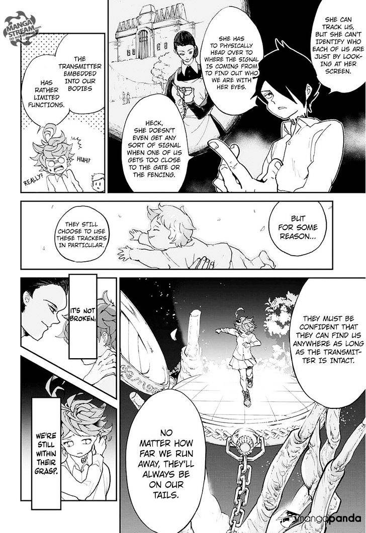 Yakusoku No Neverland Chapter 8  Online Free Manga Read Image 6