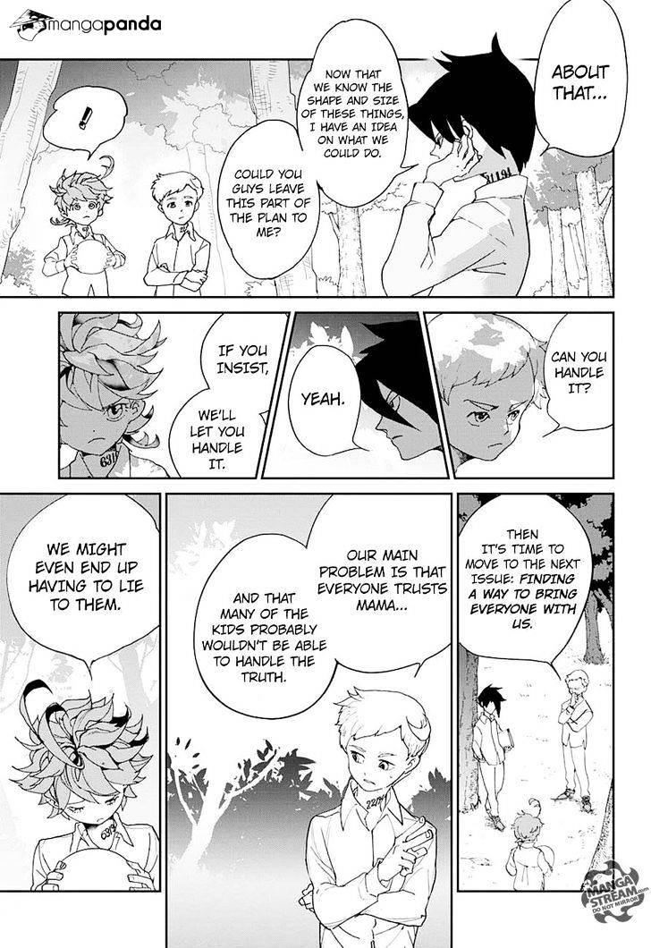 Yakusoku No Neverland Chapter 8  Online Free Manga Read Image 9