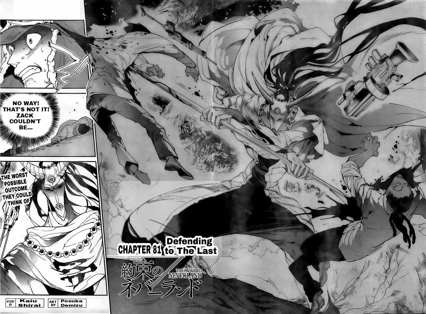 Yakusoku No Neverland Chapter 81  Online Free Manga Read Image 2