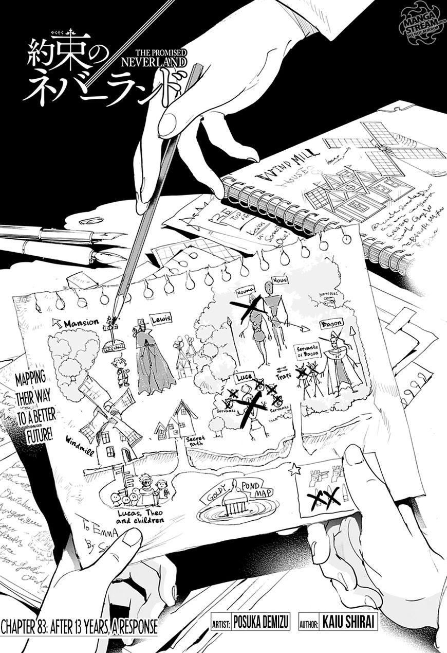 Yakusoku No Neverland Chapter 83  Online Free Manga Read Image 5