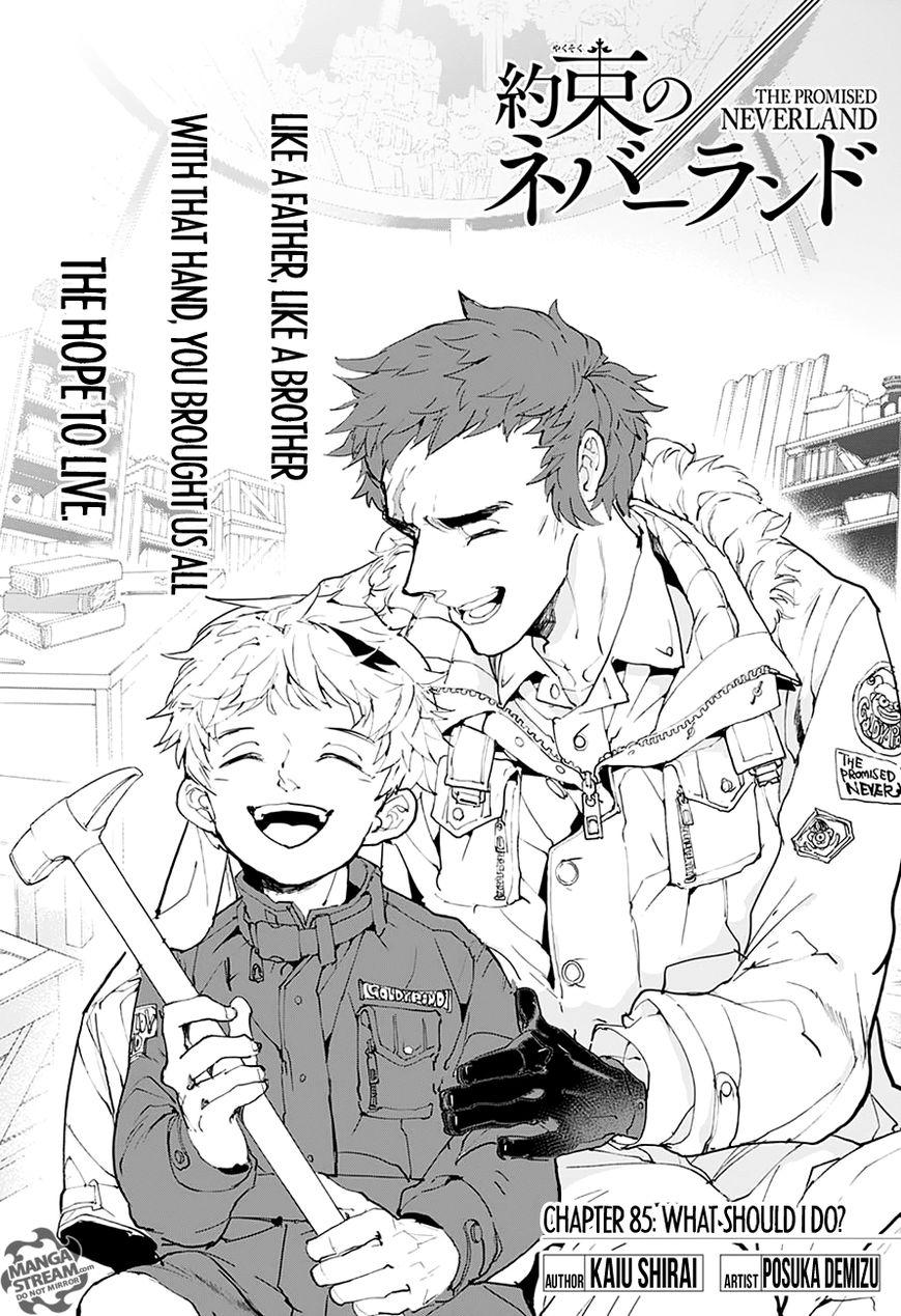 Yakusoku No Neverland Chapter 85  Online Free Manga Read Image 5