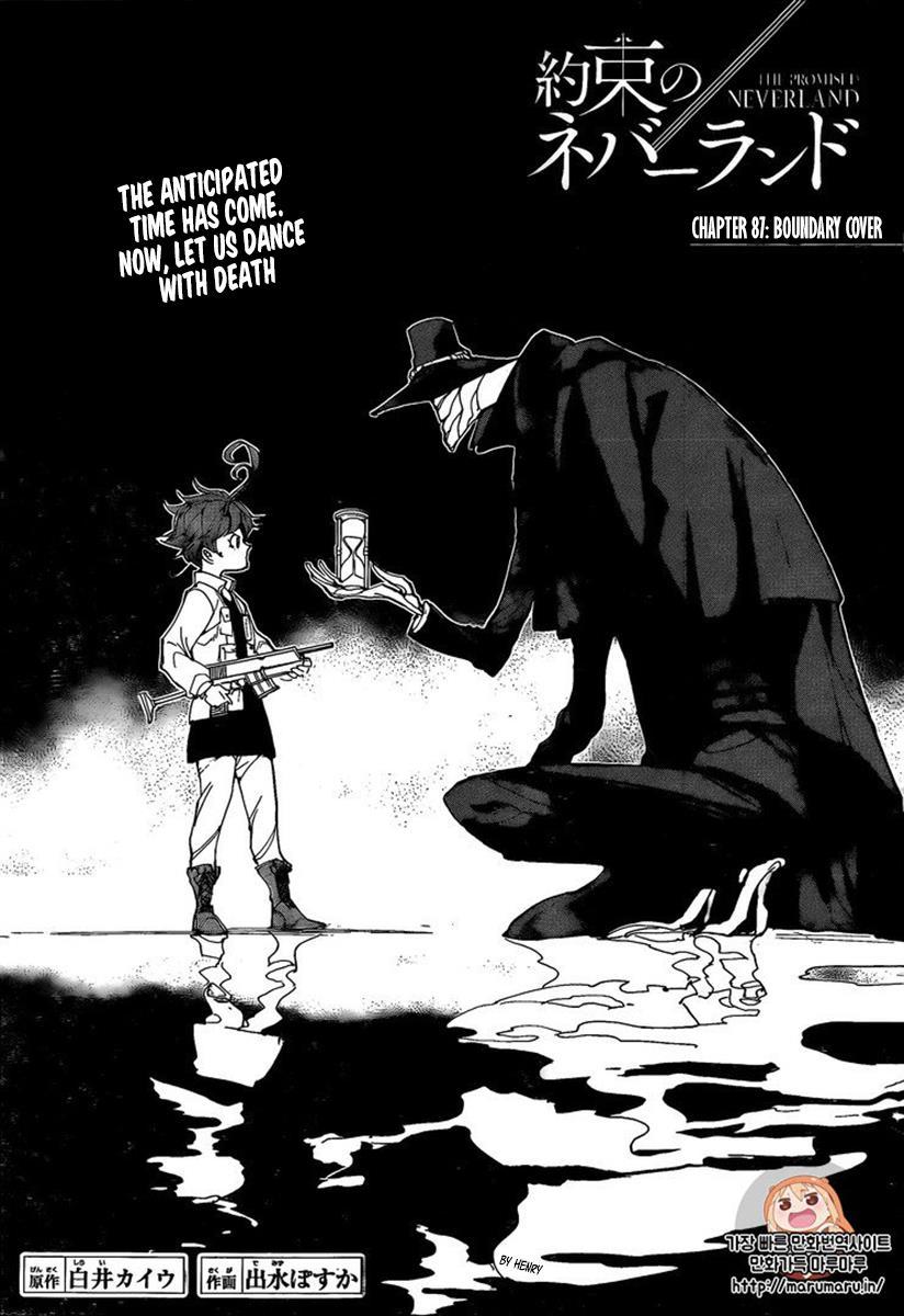 Yakusoku No Neverland Chapter 87  Online Free Manga Read Image 2
