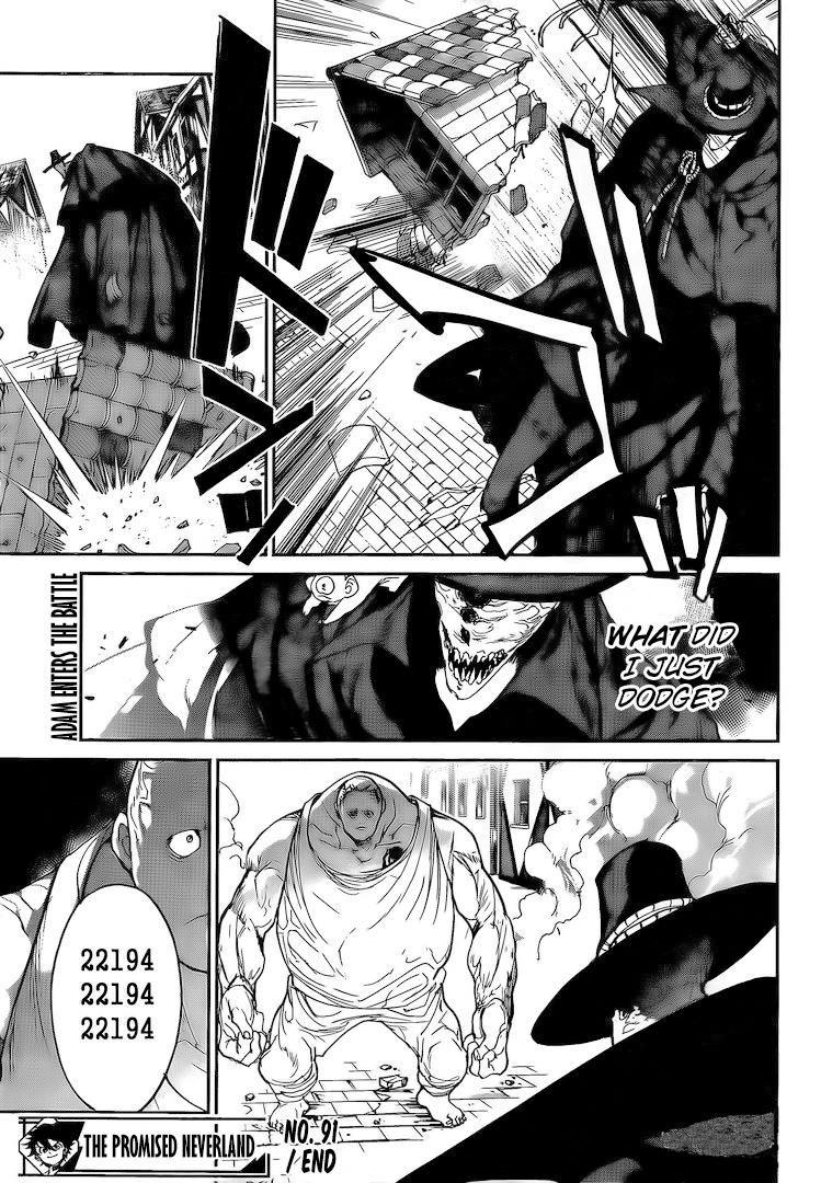 Yakusoku No Neverland Chapter 91  Online Free Manga Read Image 19