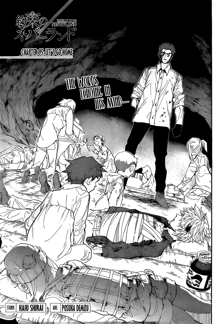 Yakusoku No Neverland Chapter 95  Online Free Manga Read Image 4