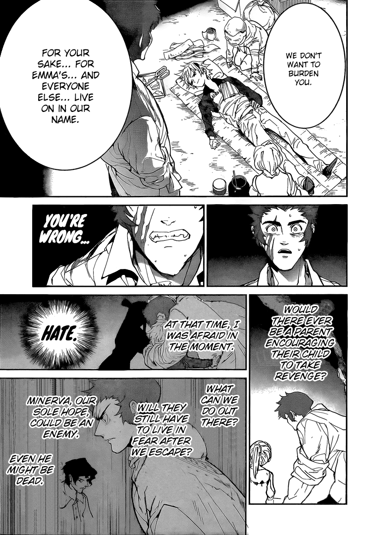Yakusoku No Neverland Chapter 95  Online Free Manga Read Image 8