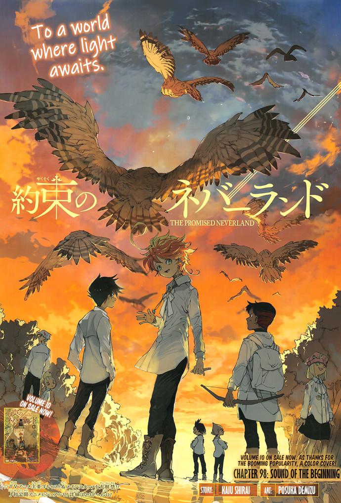 Yakusoku No Neverland Chapter 98  Online Free Manga Read Image 2