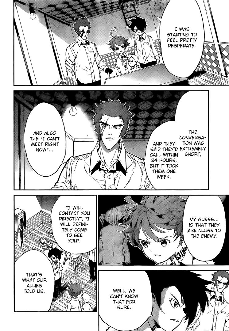 Yakusoku No Neverland Chapter 99  Online Free Manga Read Image 5